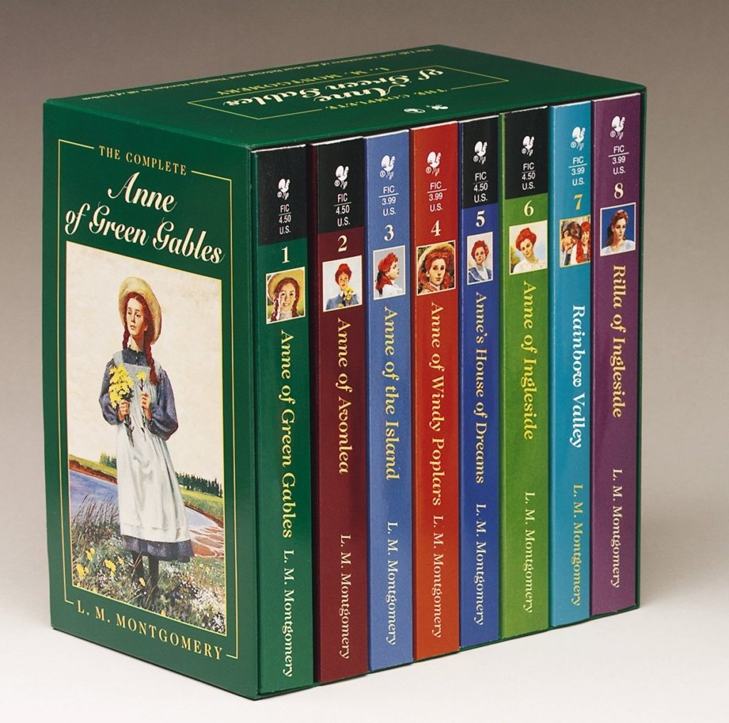 Anne of Green Gables complete series in paperback